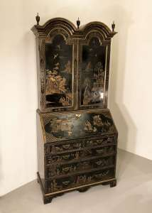 Chinoiserie secretaire in excellent condition circa 1960/1970 (T4528)