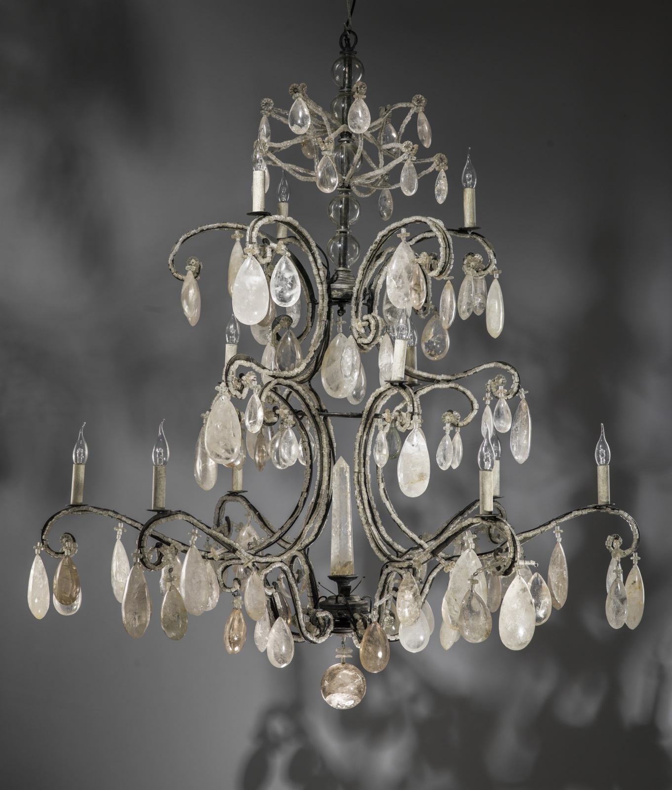 chandelier harriet reviews bee wayfair pdx barr iron light and crystal lighting acrylic