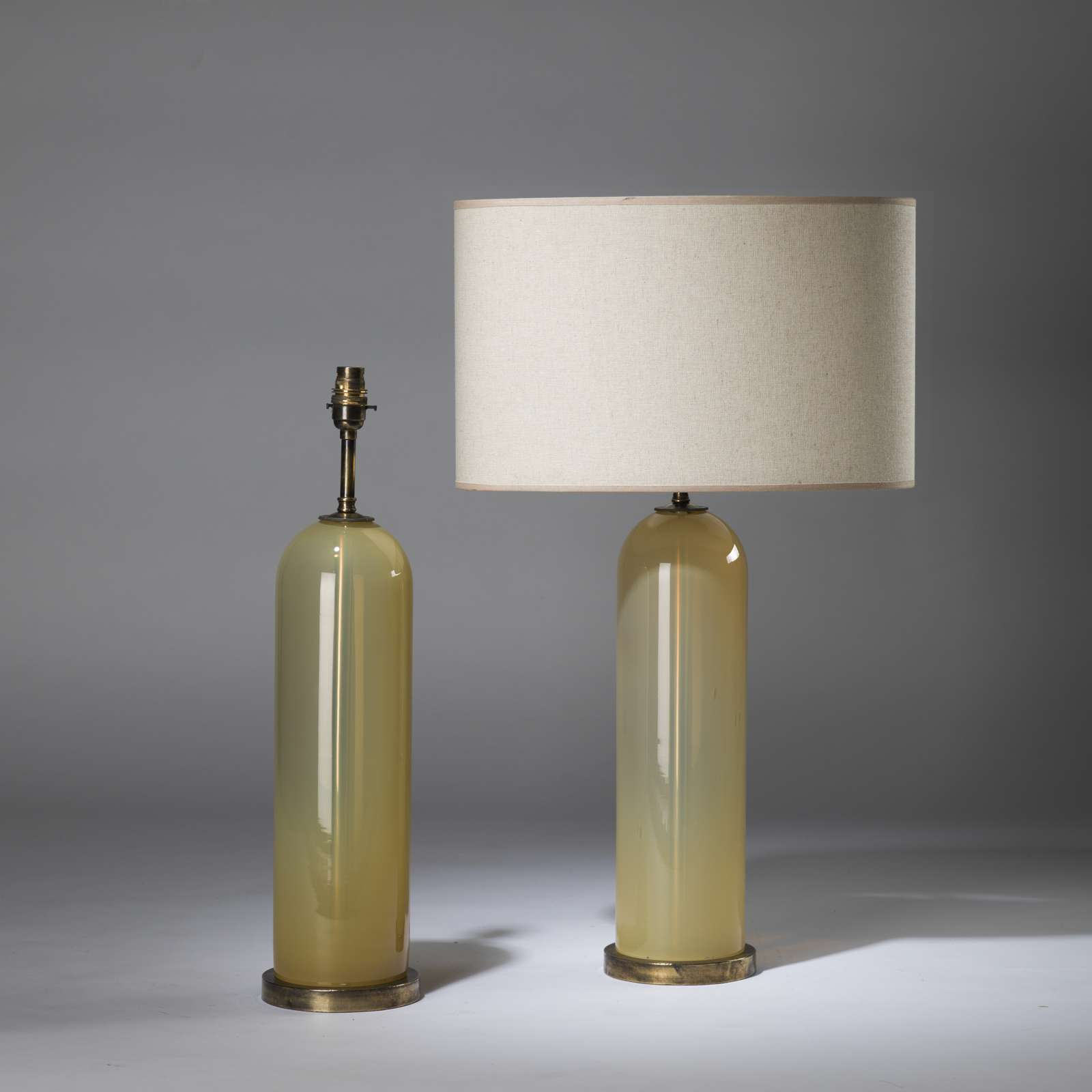 plafond century s yellow archive ztijl b ceiling lamps of lamp amber mid raak glass with design vintage set shade
