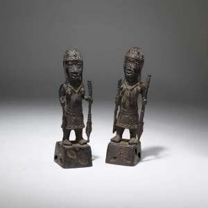 Bronze tribal Sculptures (T3835)