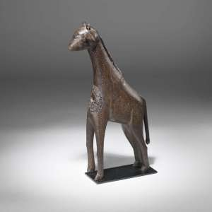 Antique african giraffe (T3864)