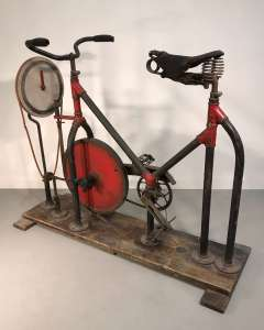 Hilarious 'Spencer' patented exercise bike circa 1920 (T4560)