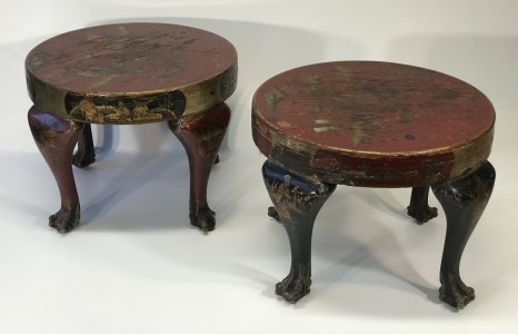 Pair of chinoiserie side tables (T5033)