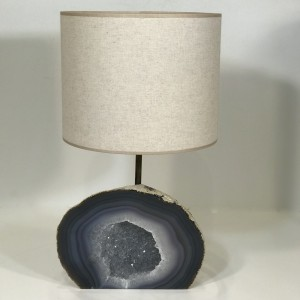 single agate cave lamp (T5073)