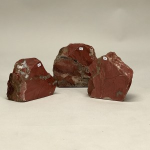 Chunks Of 'brick' Stones With One Polished Face (T5221)